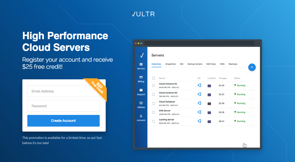 Vultr Coupons - Vultr Promo Codes - CouponTree