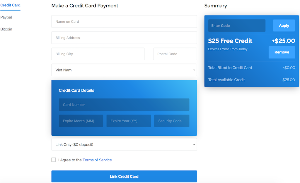 Vultr donates $25 free for 1 year - CouponTree