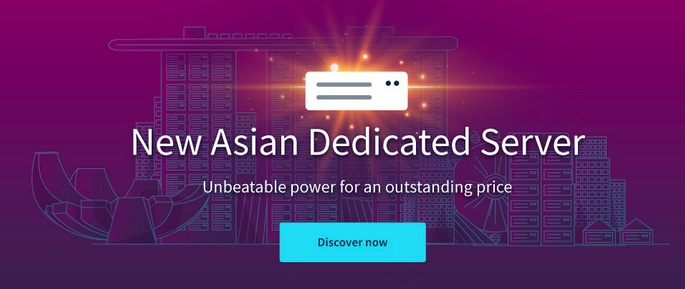 OVH added a new Dedicated Server plan in Singapore, good